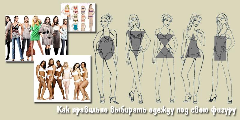 Как правильно выбирать одежду под свою фигуру